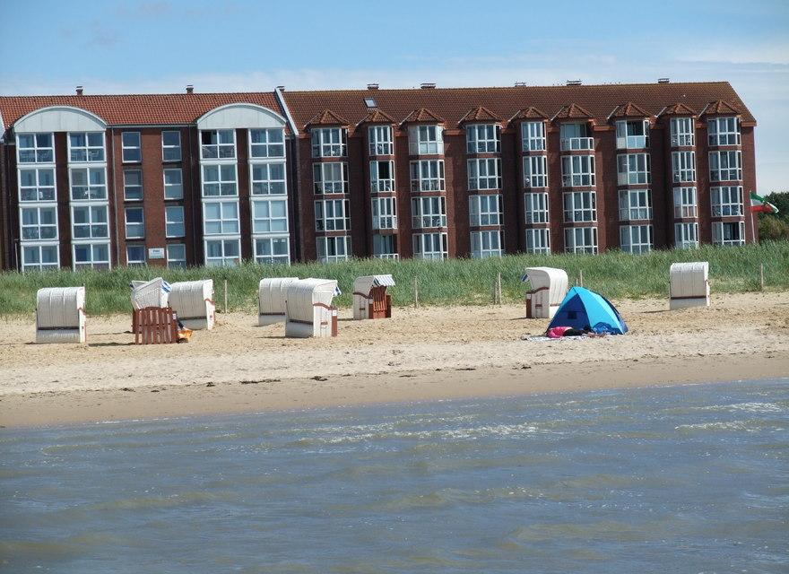 Ferienwohnung cuxhaven f r 2 personen meerblick for Gunstige unterkunft nordsee