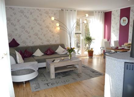 ferienwohnung seebad ahlbeck f r 4 personen ferienhaus kathrin kleines meergl ck mit kamin und. Black Bedroom Furniture Sets. Home Design Ideas